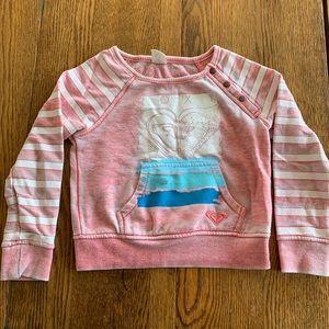 Roxy girls sweatshirt